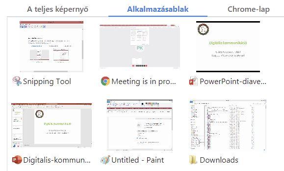 Webex-megosztas-alkalmazasablak