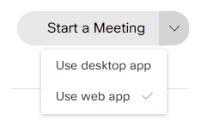 Webex-start-a-meeting-select-app